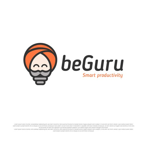 Fun logo for Guru