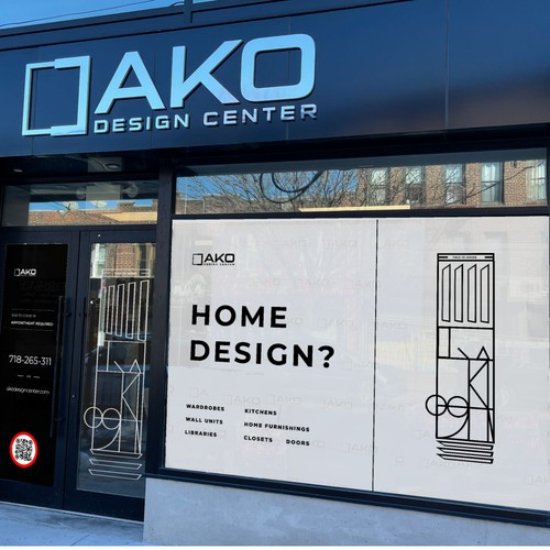 NY Shop window design