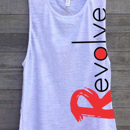 Tshirt design for revolve