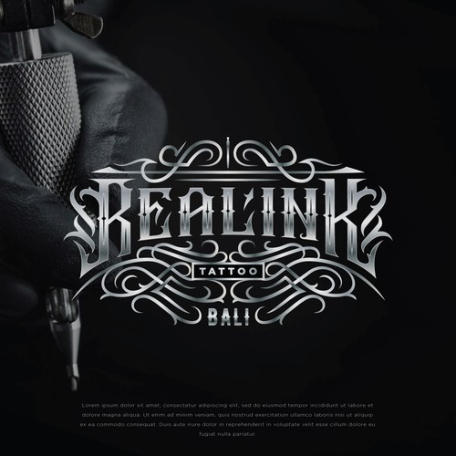 Real Ink Tattoo Logo