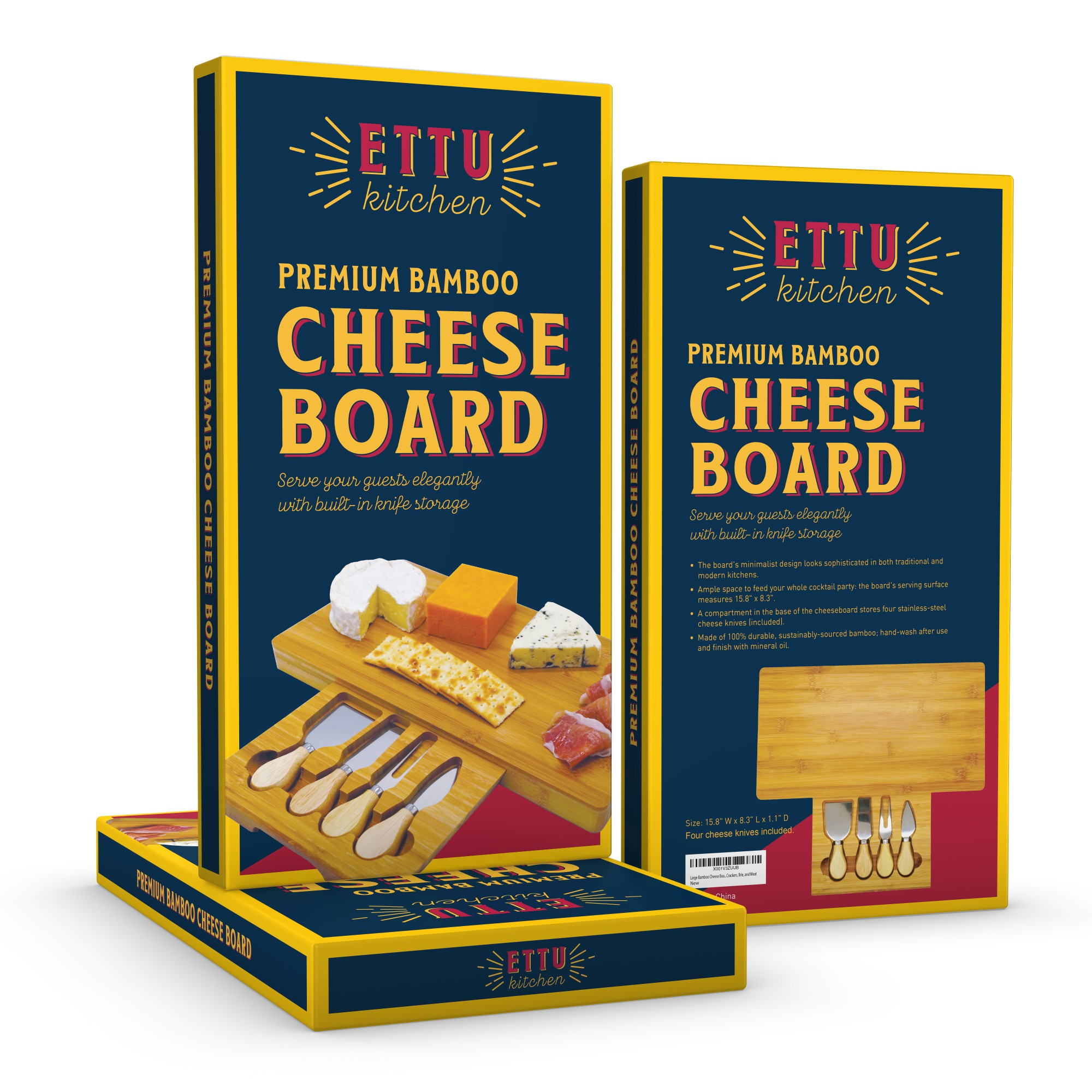 Additional promotional image for cheese board