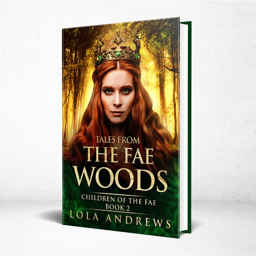 Tales from the Fae Woods-Dark Fantasy Fairytale Cover