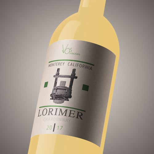 Wine label LOROMER_CH