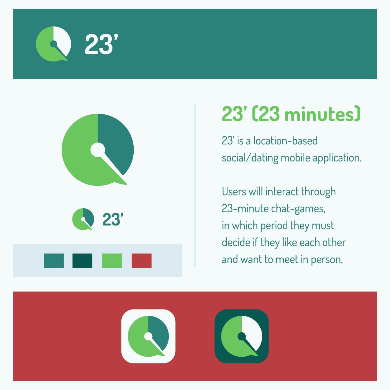 23' (23 minutes)