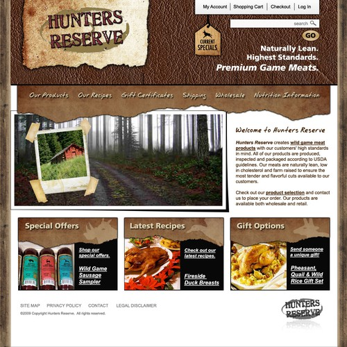 Premium meats eCommerce site needs a PREMIUM design