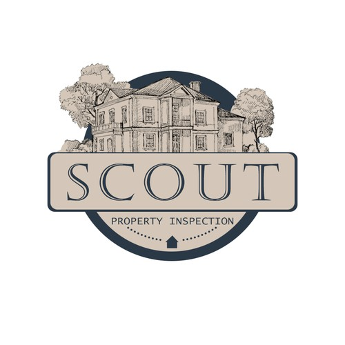 Hey! Make a classy logo for our new property inspection business!