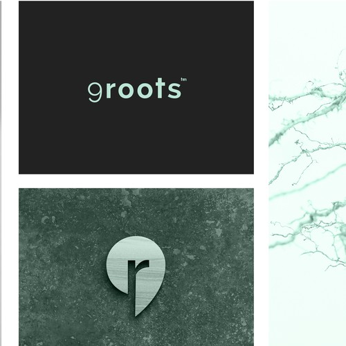 brand identity for 9roots