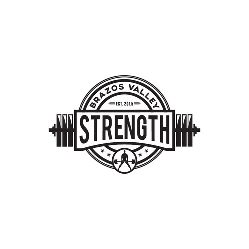 gym logo vintage