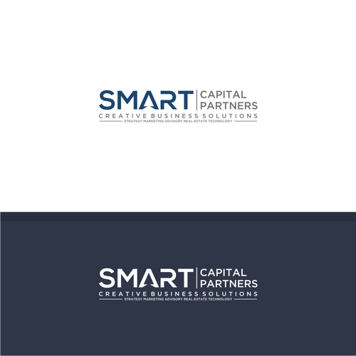 Bold logo concept For Smart Capital Partners