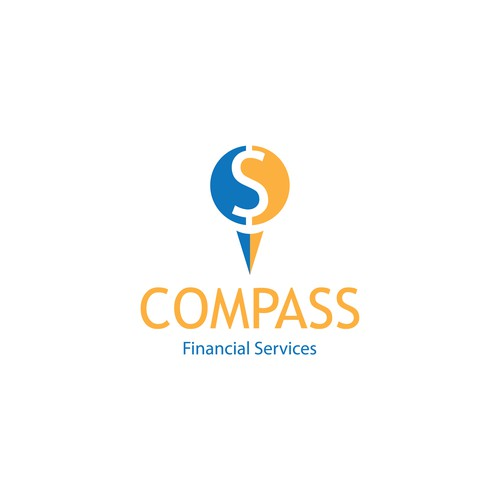 Logo Concept for Compass Financial Services.