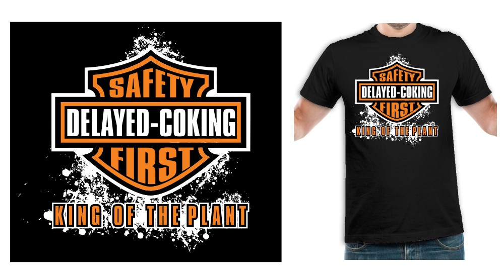 New t-shirt design wanted for Delayed Coking (No Business Name)