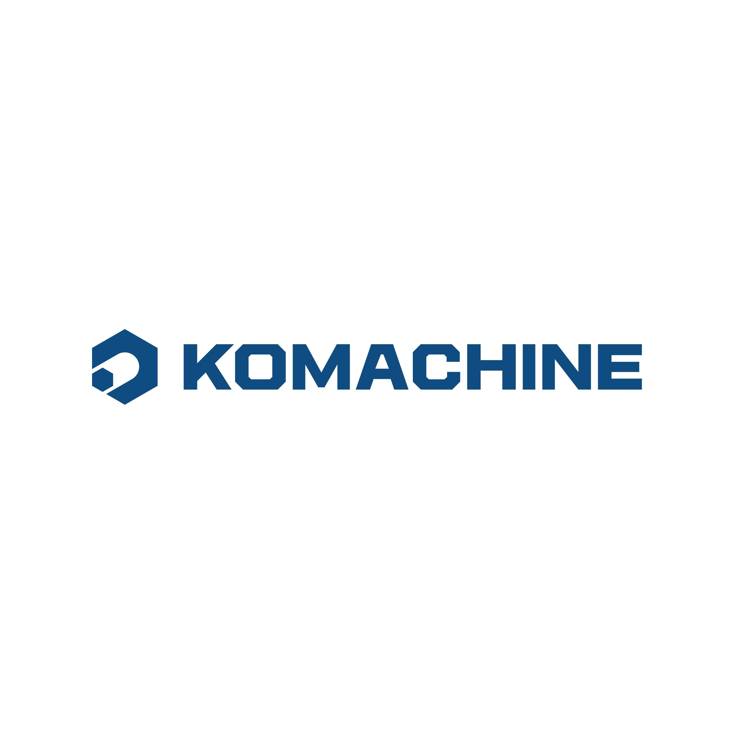 KOMACHNINE, MACHINE INDUSTRY ONLINE PLATFORM LOGO