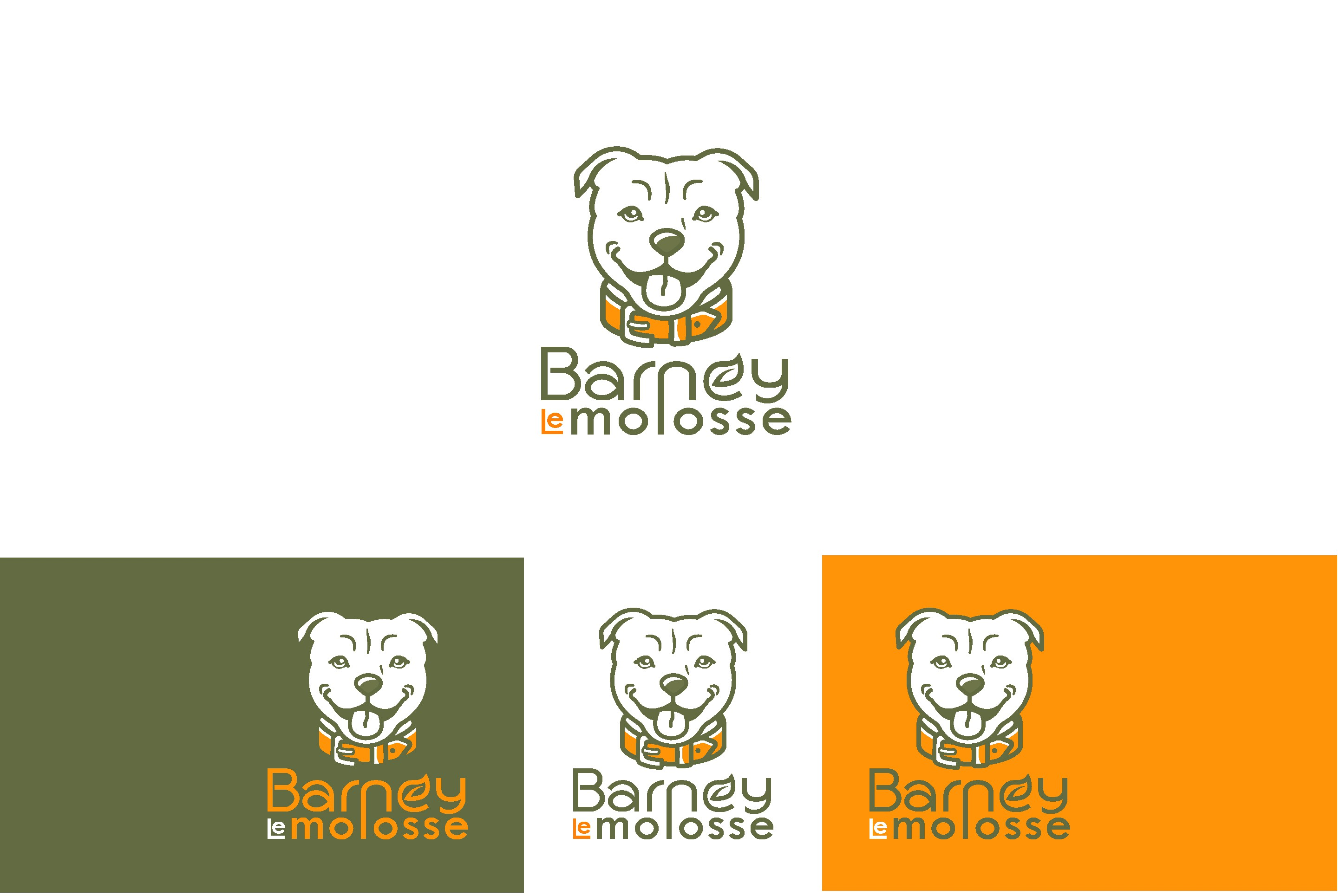 Online dog store LOGO - naturals and healthy products