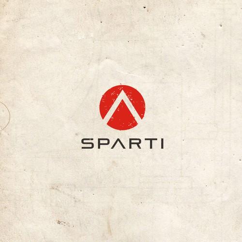 SPARTI logo design