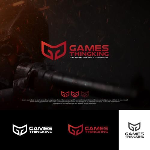 Logo design for Games thingking