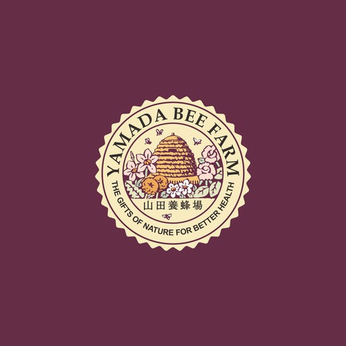 Redesign logo concept for Yamada Bee Farm