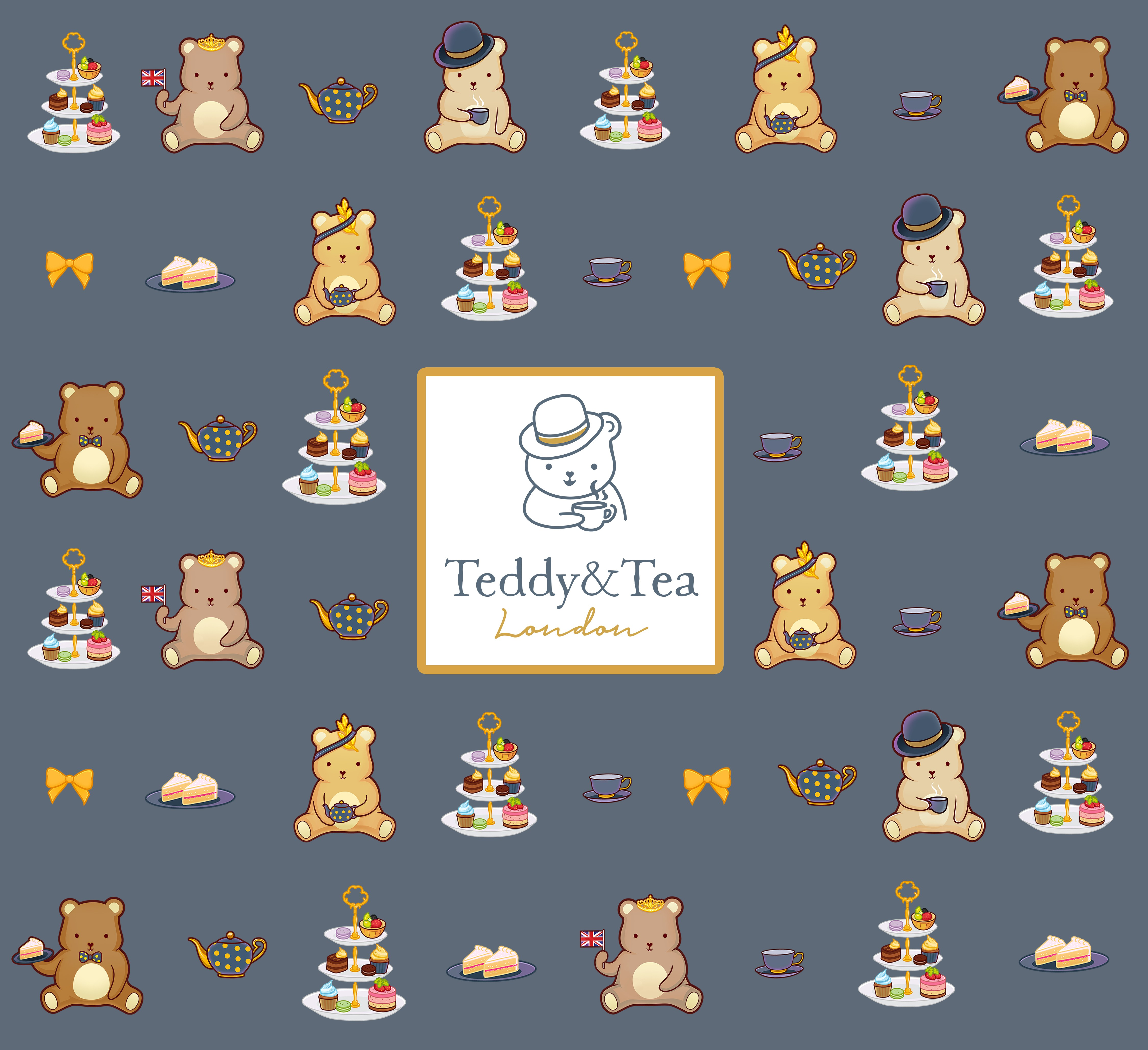 Teddy and Tea - Packaging Design