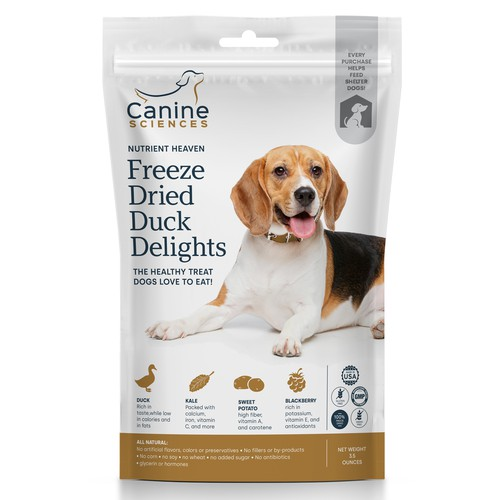 Dog snack packaging proposal