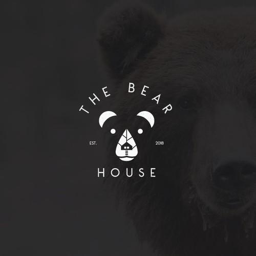 Elegant Logo Concept for The Bear House
