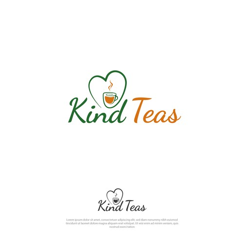 Fresh logo concept for a tea company