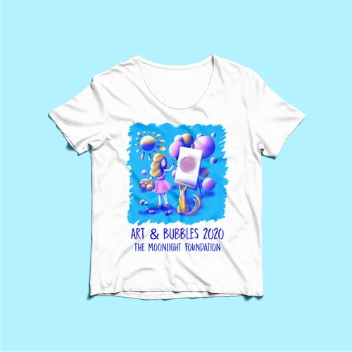 T-shirt for a fundation