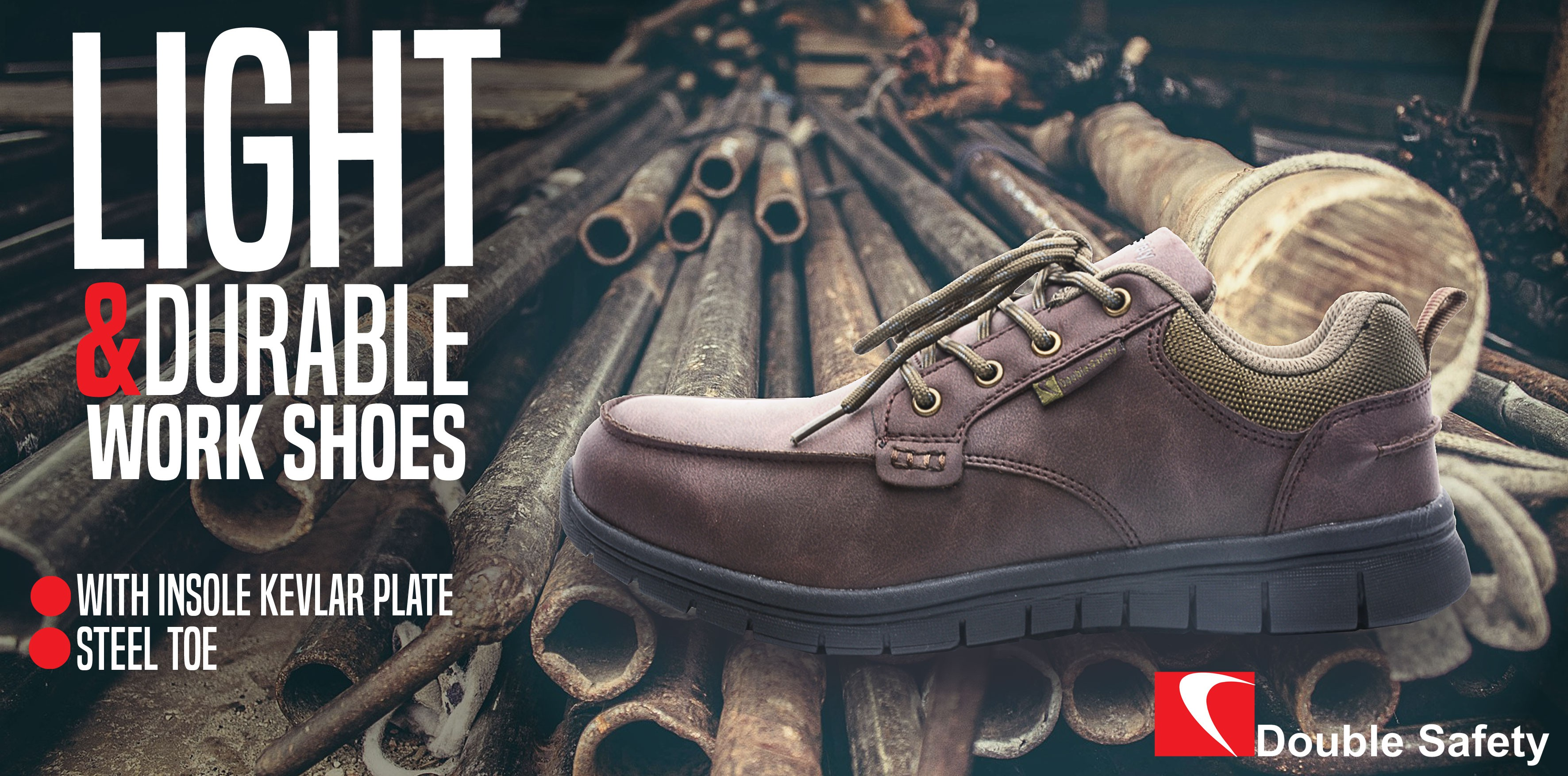 Banner Ad for work Shoes