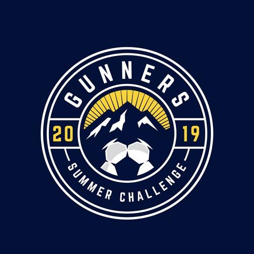 Logodesign for gunners soccer