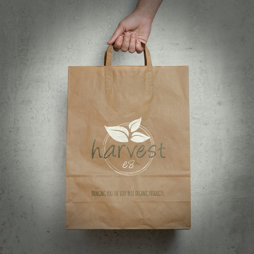 Design concept for organic healthfood store (London).