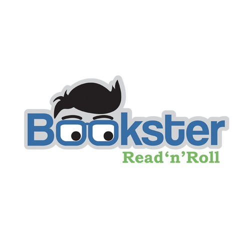 New logo for Bookster, a cool new start-up