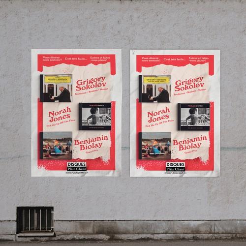 Disques Plain Chant Poster