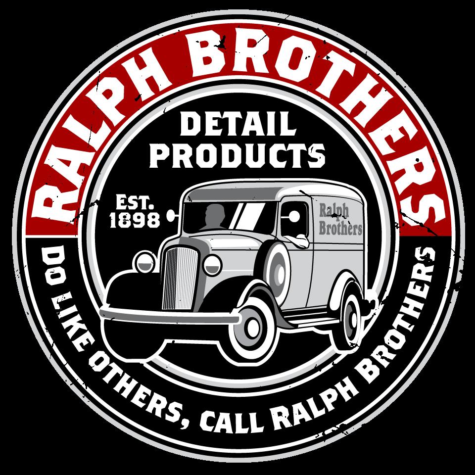 Design a vintage themed logo for Ralph Bros. car care line