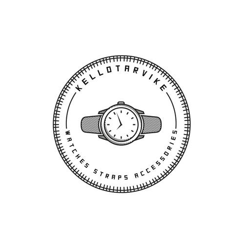 watch vintage logo
