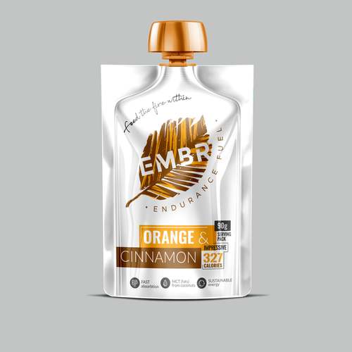 EMBR - Endurance Fuel Label design