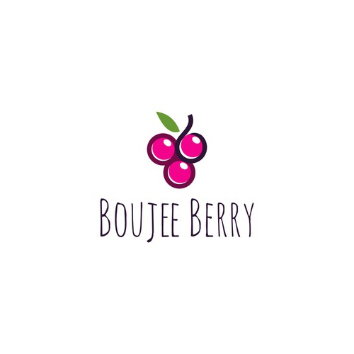 logo concept for boujee berry