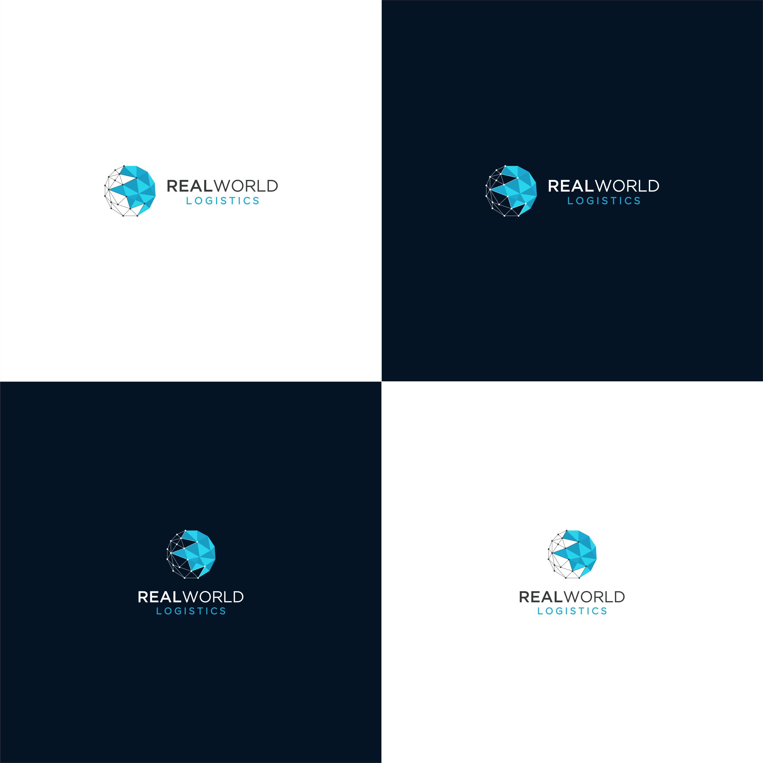 Design a brand logo for Real World Logistics