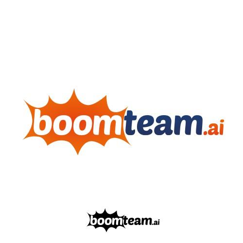 Bold logo for boomteam.ai