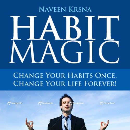Book Cover design for Habit Magic