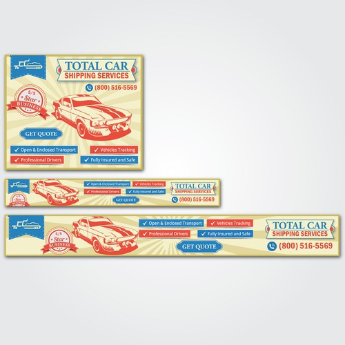 Total Car Banner Ads