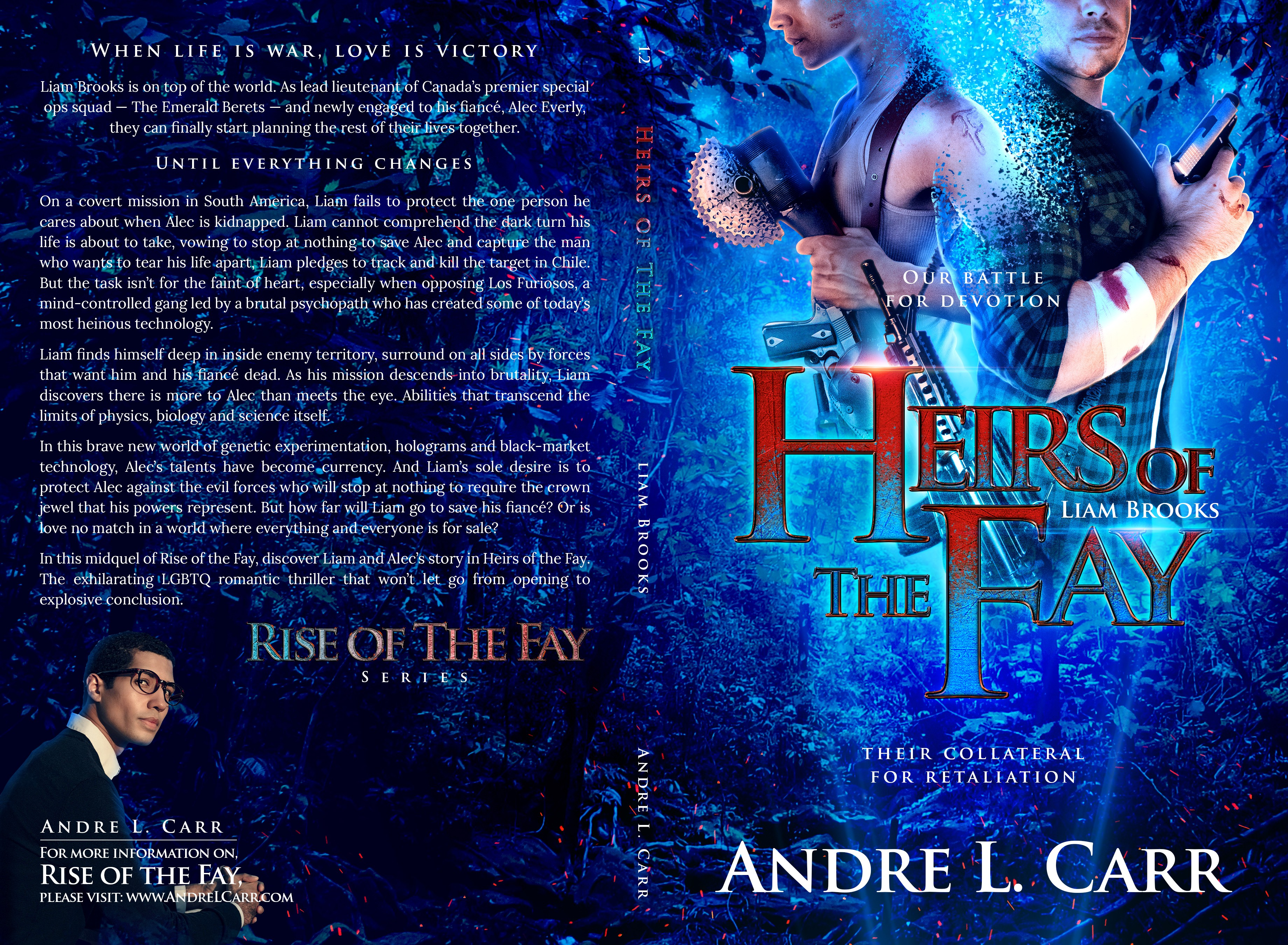 Heirs of the Fay: Liam Brooks Book Cover