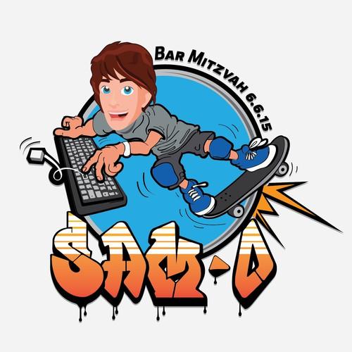 Brooklyn Skateboard Startup Logo