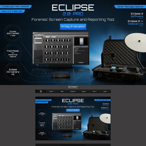 Create Graphic for New Software Product for Law Enforcement and Military!