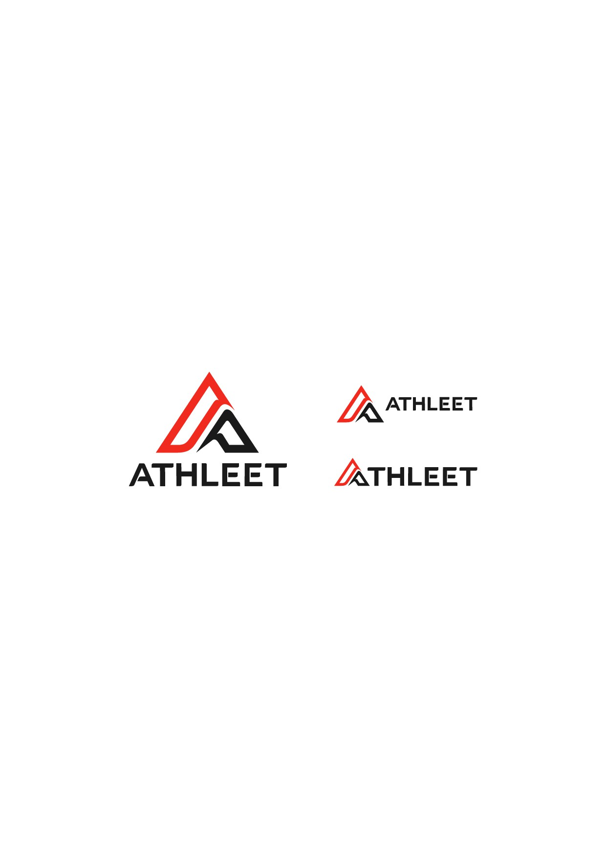 Athletic company seeks a strong brand logo that is simple and clear...