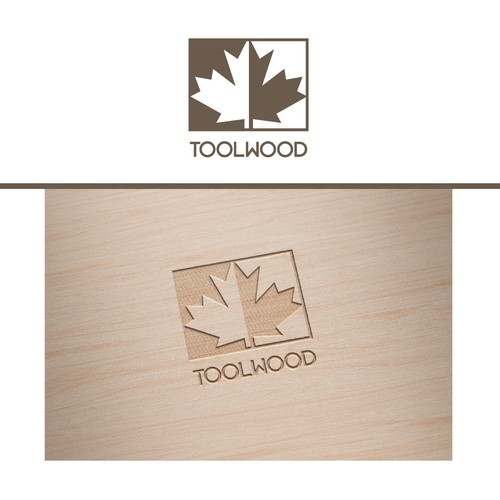 "Logodesign für Gravur ""Toolwood"""