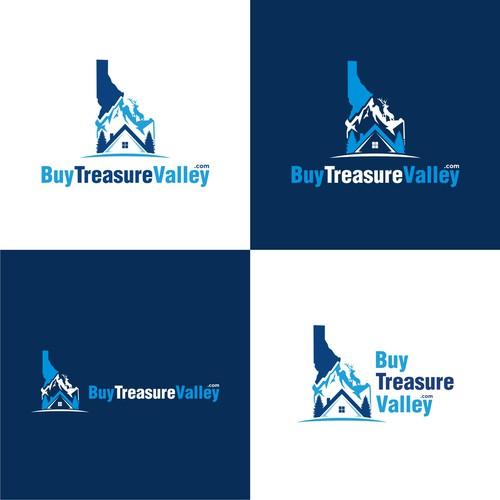 BuyTreasureValley.com creative logo design