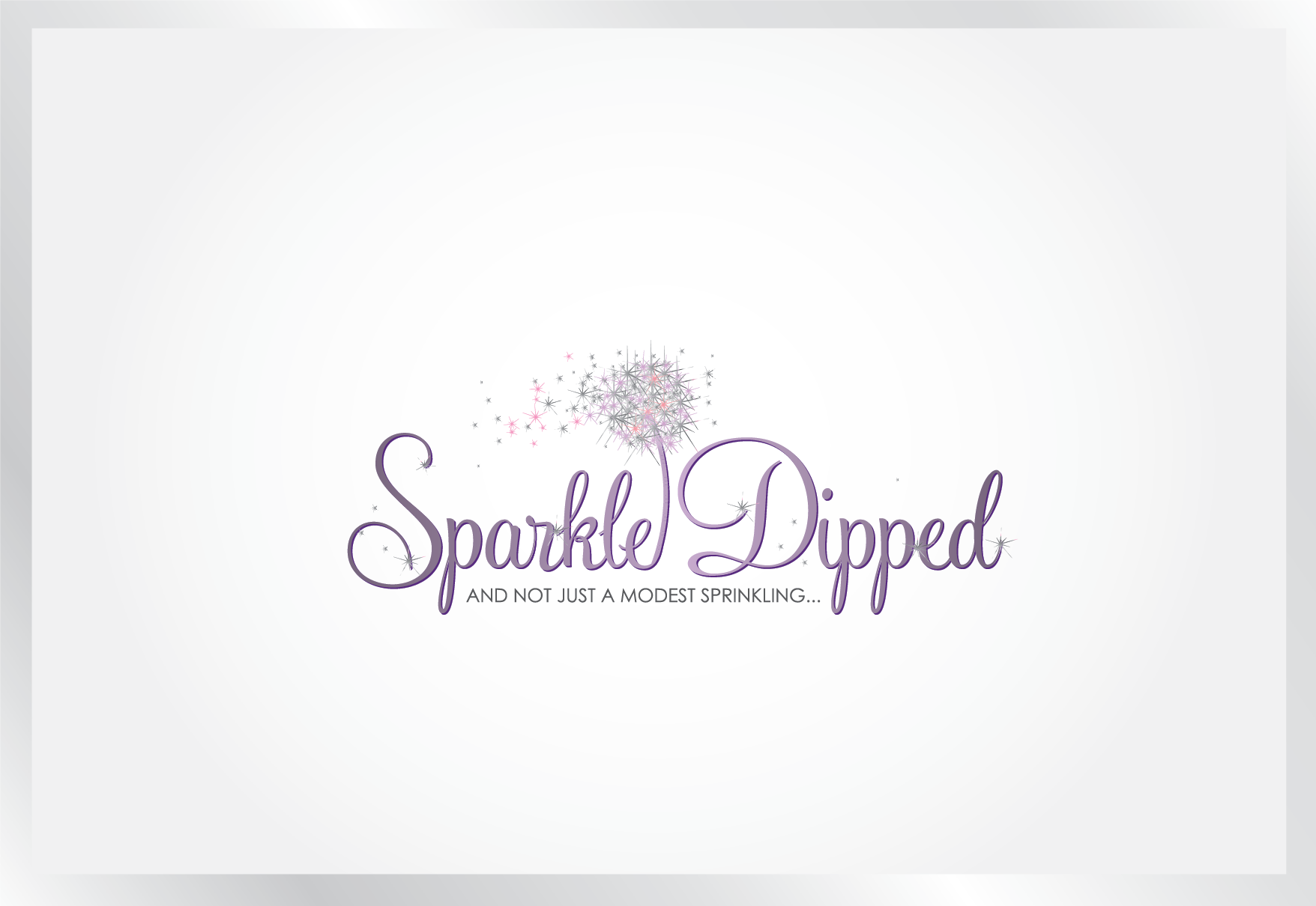 Looking for a beautiful logo...Sparkle Dipped