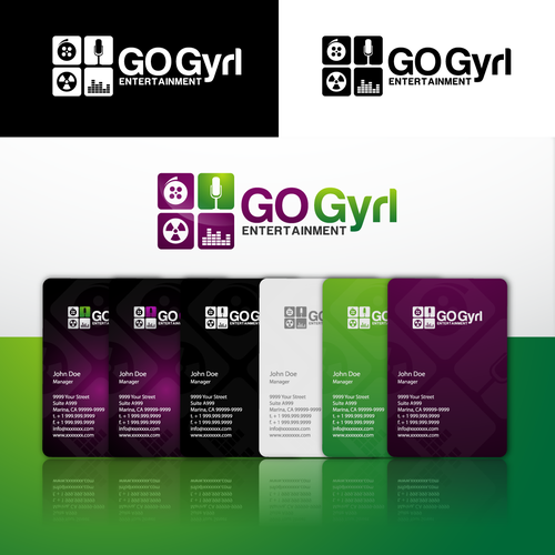 GO Gyrl Entertainment needs a new logo
