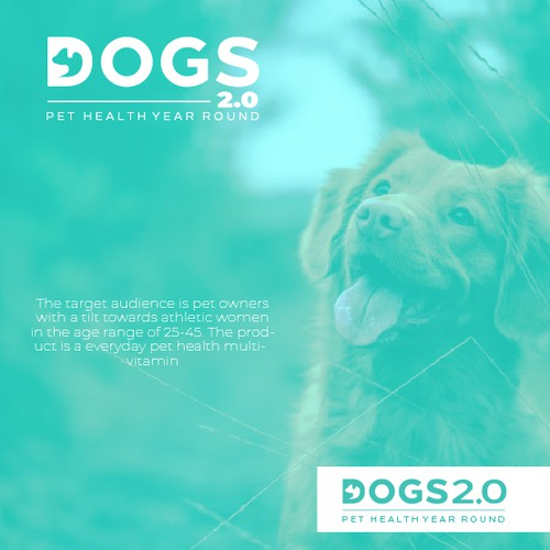 Clean Logo Design for Dogs 2.0