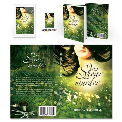 """Book cover for """"Shear Murder"""" by Rhonda Blackhurst"""