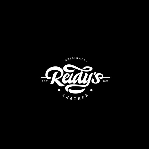 Leather Company Hand Lettering Logo
