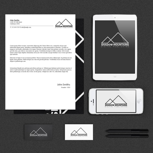 Logo for Shadow Mountains Digital Publishing